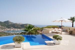 Port Andratx - Villa with unique sea views