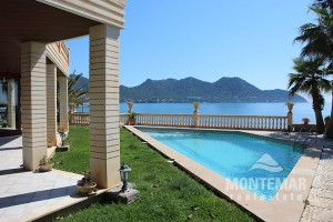 Port Verd - Luxury villa in first line with sea access