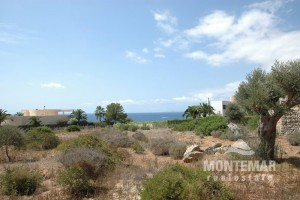 Plot with sea view in Cala Santanyi