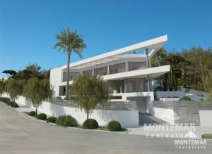 Extravagant villa with sea views under construction - Santa Ponca