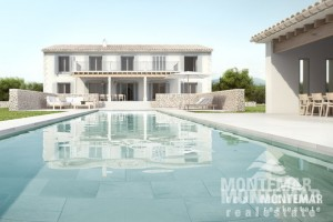 New modern Finca in quiet location nearby Felanitx