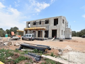 New building project in Santanyí