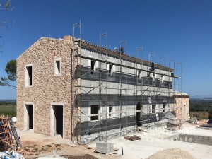 Imposant Construction Project between Cas Concos and Santanyi