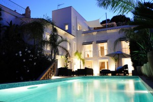 Palma/El Terreno - Port view villa for sale