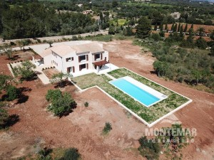 New built country house with sea view in Portocolom