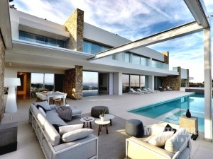 Palma/Son Vida - Exclusive villa with fantastic sea views