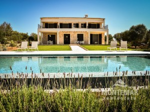 Ses Salines - Modern country house with view to the island Cabrera