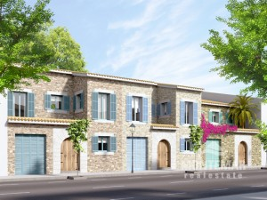 Tasteful townhouses in Ses Salines