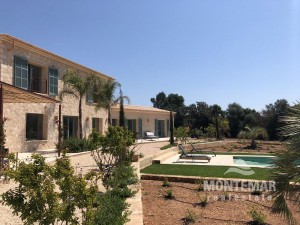 Beautiful new built country house in Cas Concos