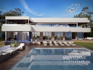 Spectacular villa with sea views and spa in Sol de Mallorca