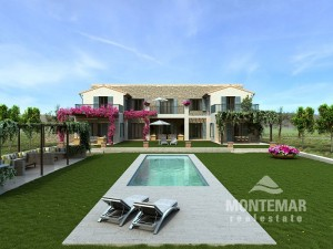 Cala Llombards - Beautiful new country house for sale