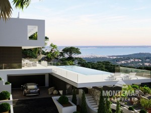 Palma/Son Vida - Designer villa with panoramic sea views