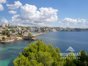 Palma/Cas Catala - Apartment with panoramic sea view