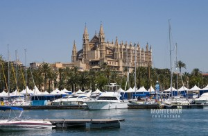 Palma/Paseo Marítimo - Apartment with panoramic views of the sea and the cathedral