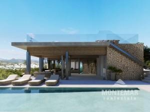 Impressive villa new construction project in Santa Ponsa