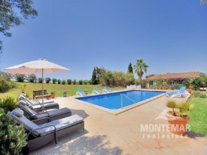 Country house with beautiful views between Porto Petro and Alqueria Blanca