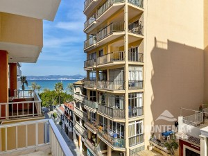 Palma/El Arenal - Apartment in TOP location with side sea view