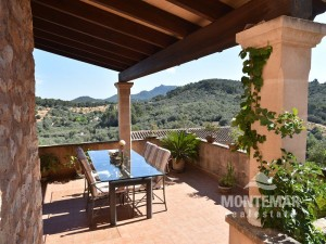 Cas Concos - Typical mallorquin finca with fantastic panoramic view