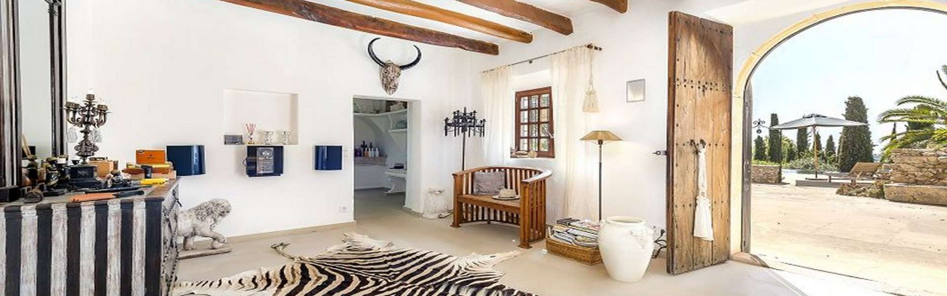 Es Carritxó - Beautiful country house from 1833 with sea/panoramic view
