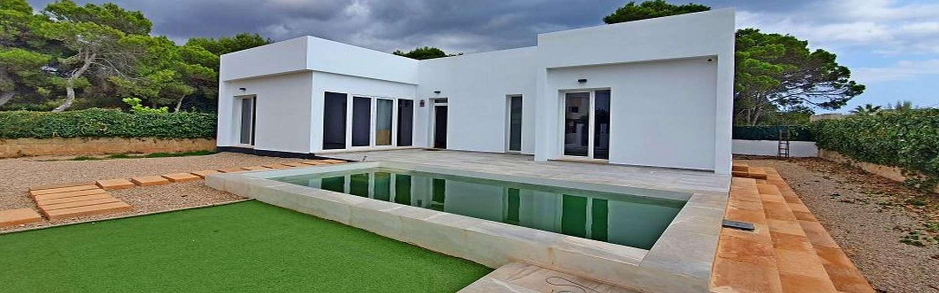 Cala Pi - New construction villa in minimalist design