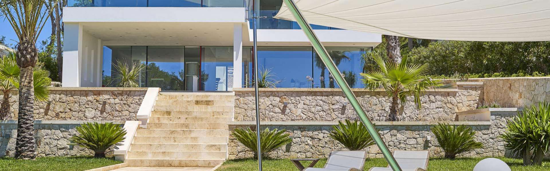 Porto Petro - Modern villa with sea access in exposed position