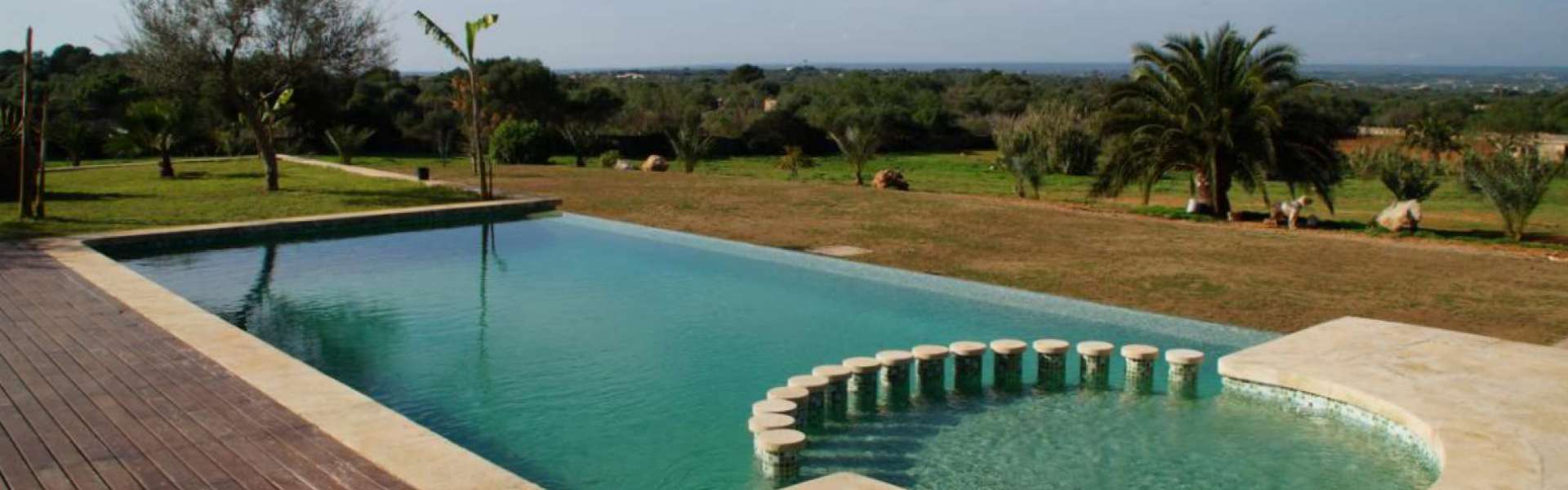 Santanyi - Country estate with indoor pool and wonderful views