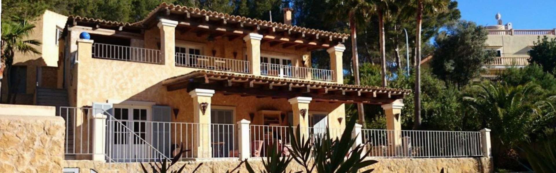 Costa de la Calma - Villa with sea view and beach access
