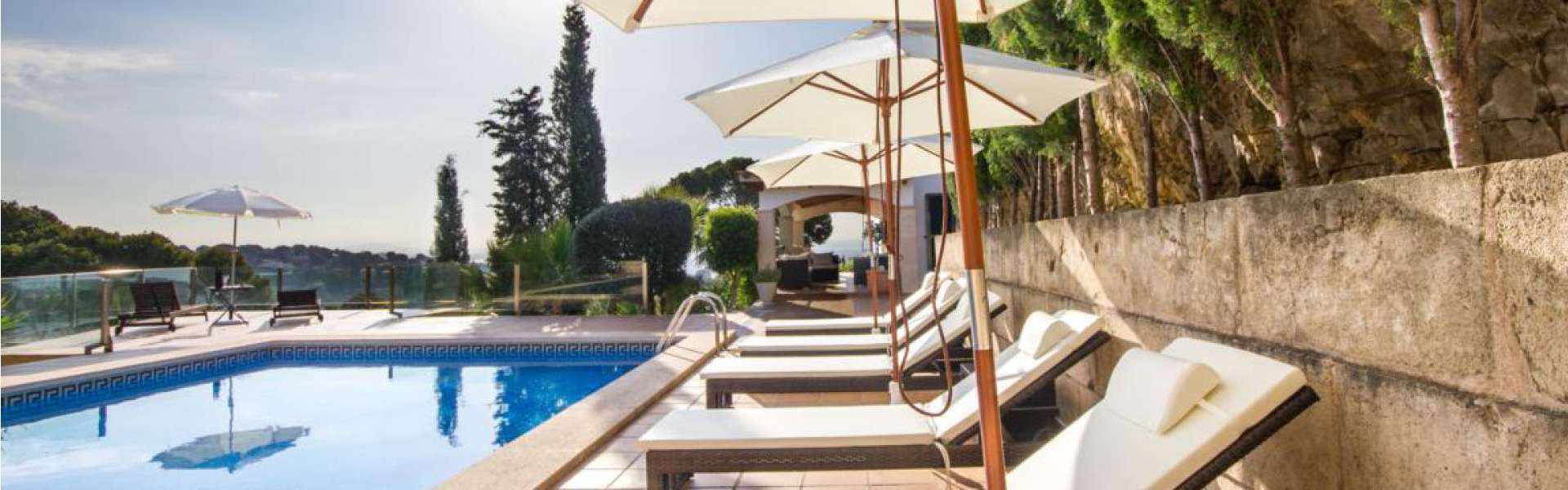 Bendinat - Luxury villa with stunning views of the bay of Palma