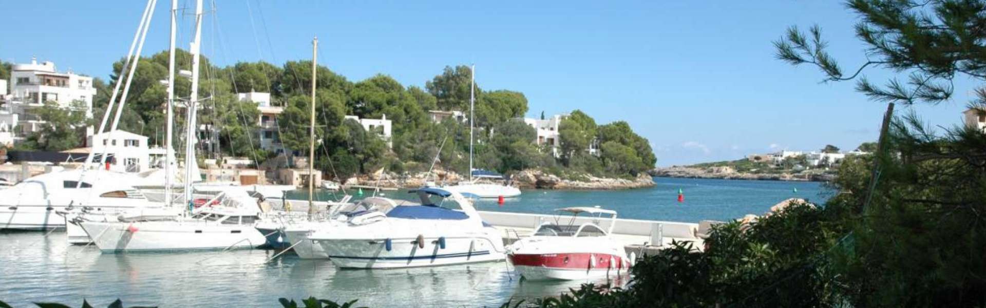 Building plot at the harbour of Cala D'Or