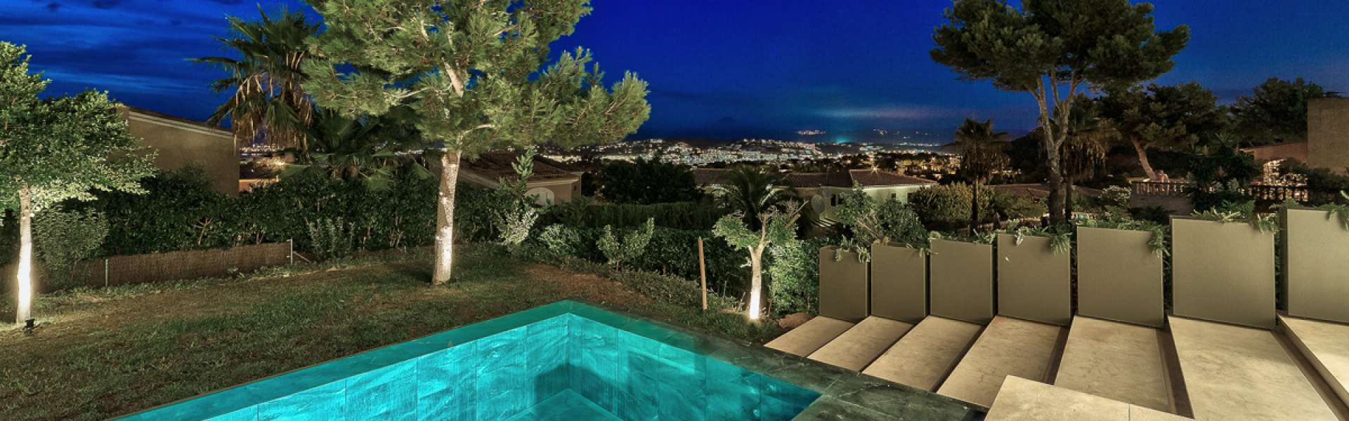 Exceptional villa with sea and mountain views - Santa Ponsa