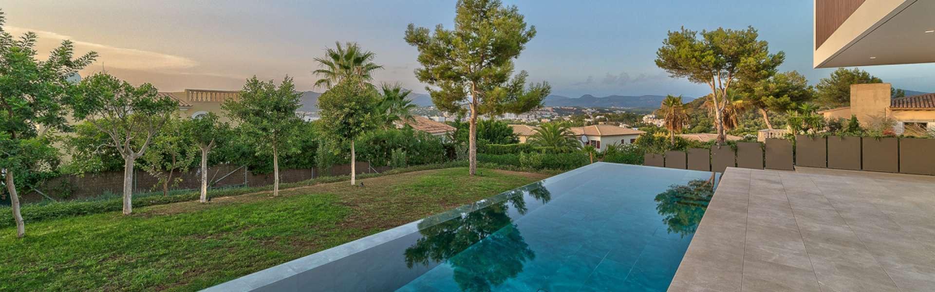 Exceptional villa with sea and mountain views - Santa Ponsa