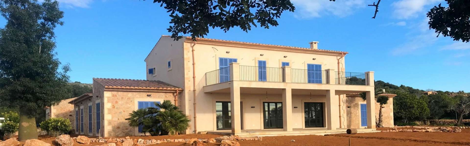 New building project in Son Punta between Alqueria Blanca and Santanyi