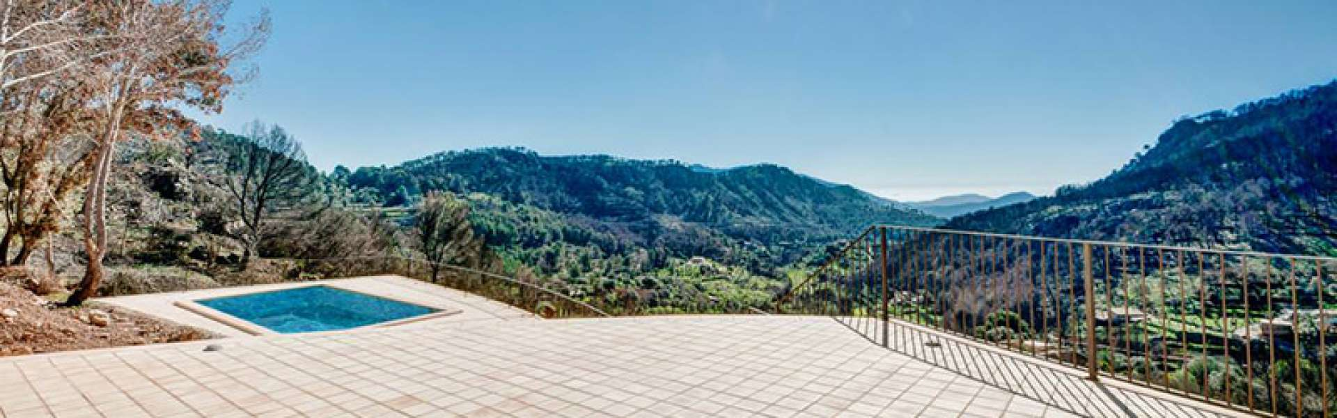 New Finca near Andratx with panoramic views
