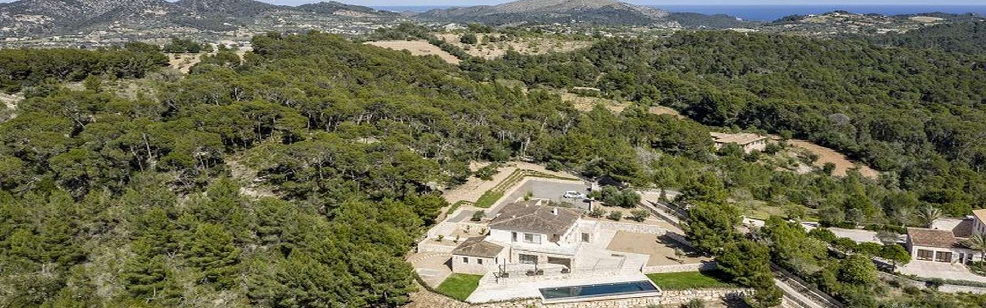 New built Finca with spectacular views - Felanitx