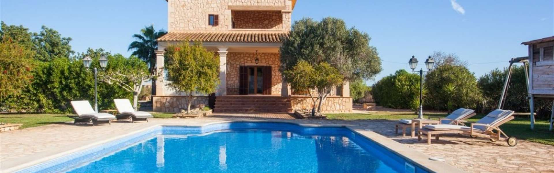 Beautiful natural stone mansion - Es Llombards
