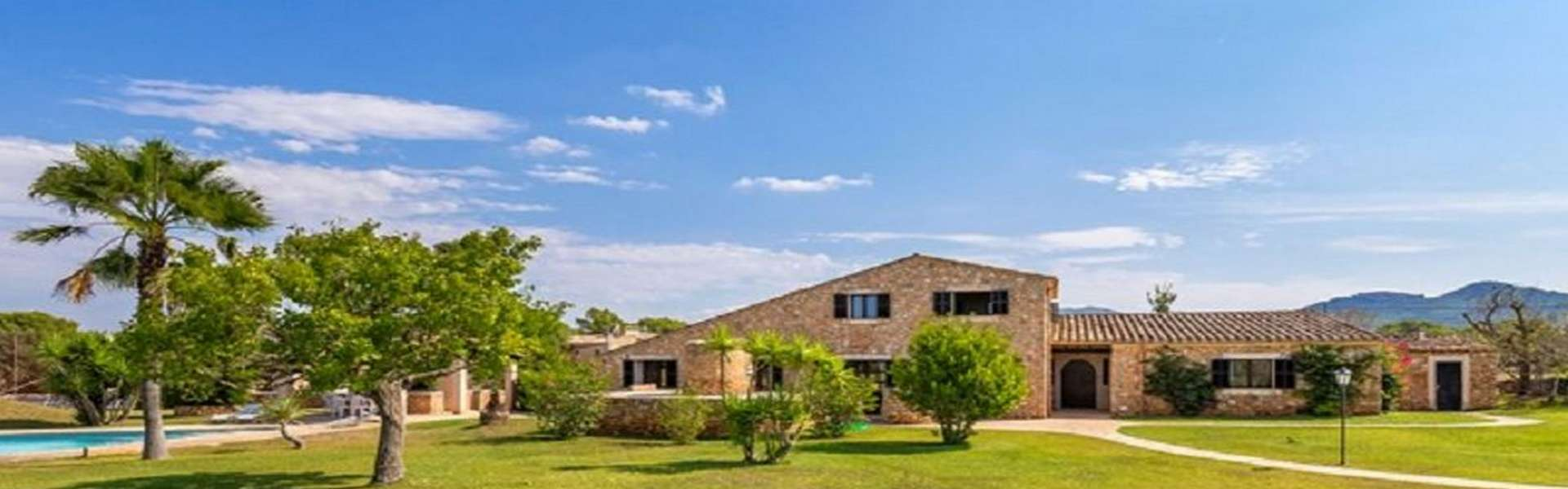 Cas Concos - Wonderful property with pool and tennis court