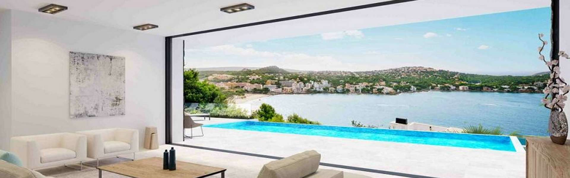 Santa Ponsa - sea view plot in top location