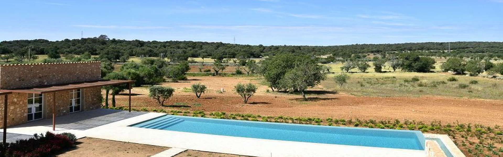Santanyí - Modern new built country house with far view