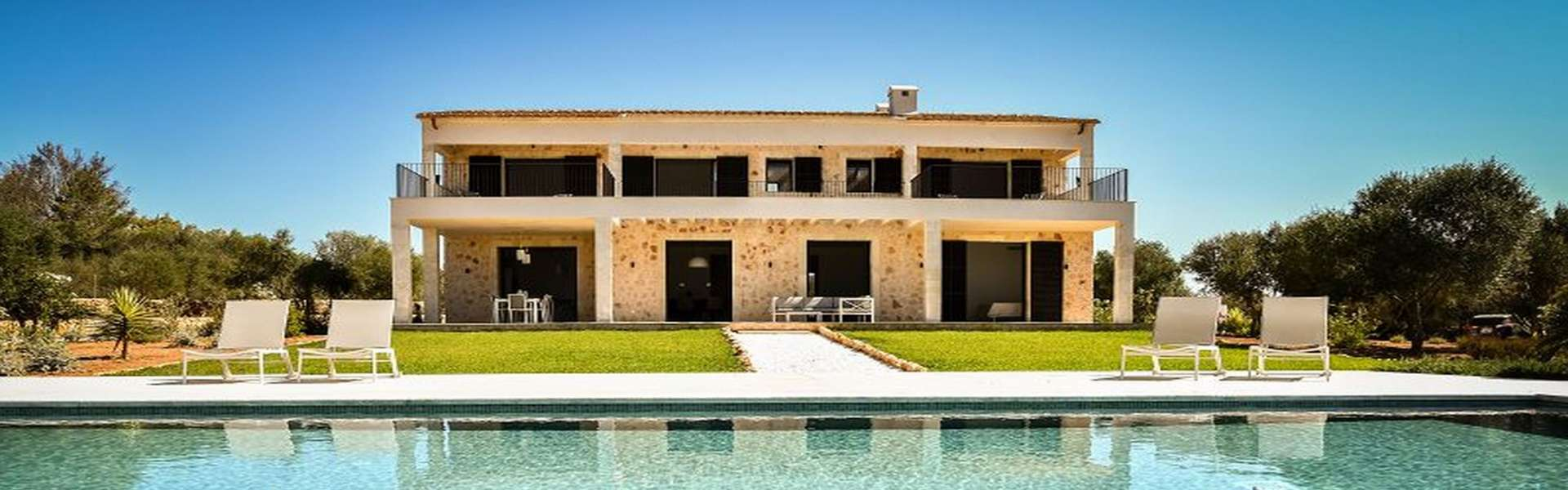Ses Salines - Modern country house with fantastic view to the island Cabrera