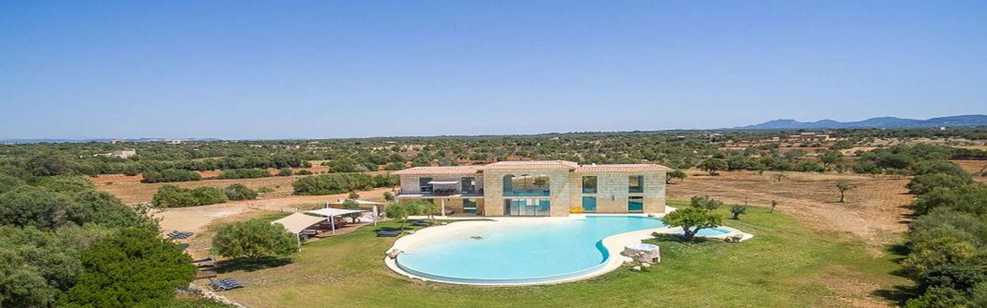 Ses Salines - Stylish country house with sea view for sale