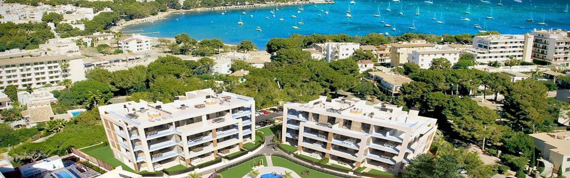 Exclusive penthouse apartments for sale in Portocolom