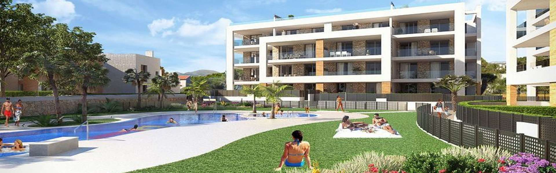 Exclusive apartments in Portocolom for sale