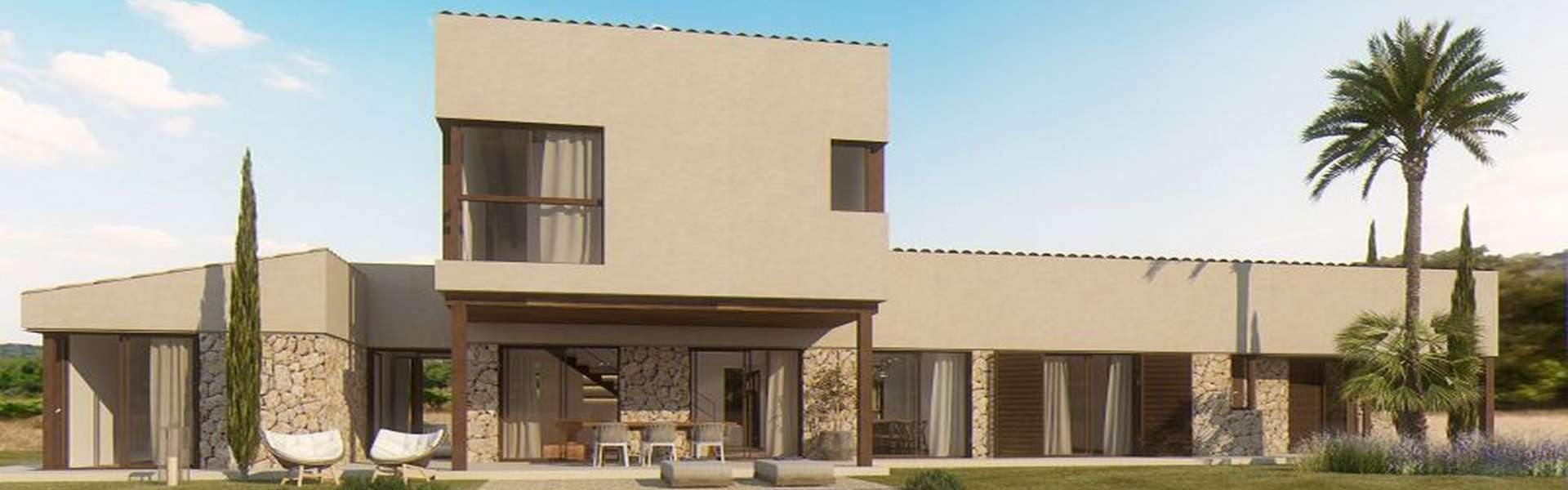 Nice new building project near Es Trenc for sale