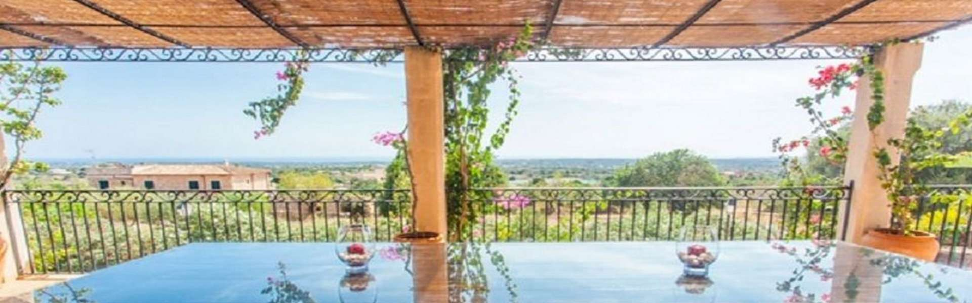 Fantastic finca with spectacular views over the Mediterranean sea for longtermrental