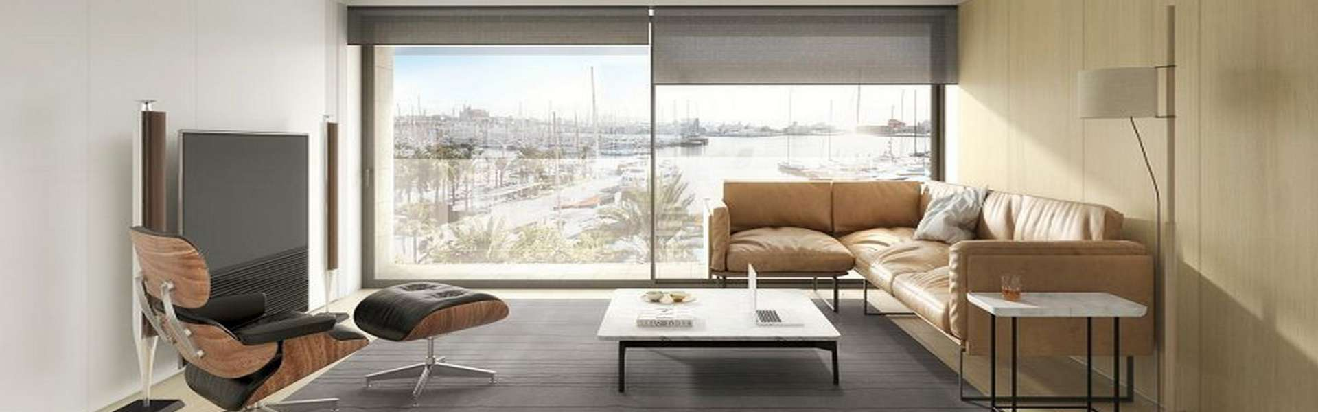 Palma/Paseo Marítimo - Nice apartment with modern design and spectacular views