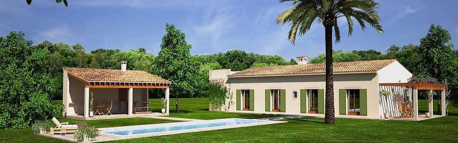 Plot with approved building project in Cas Concos