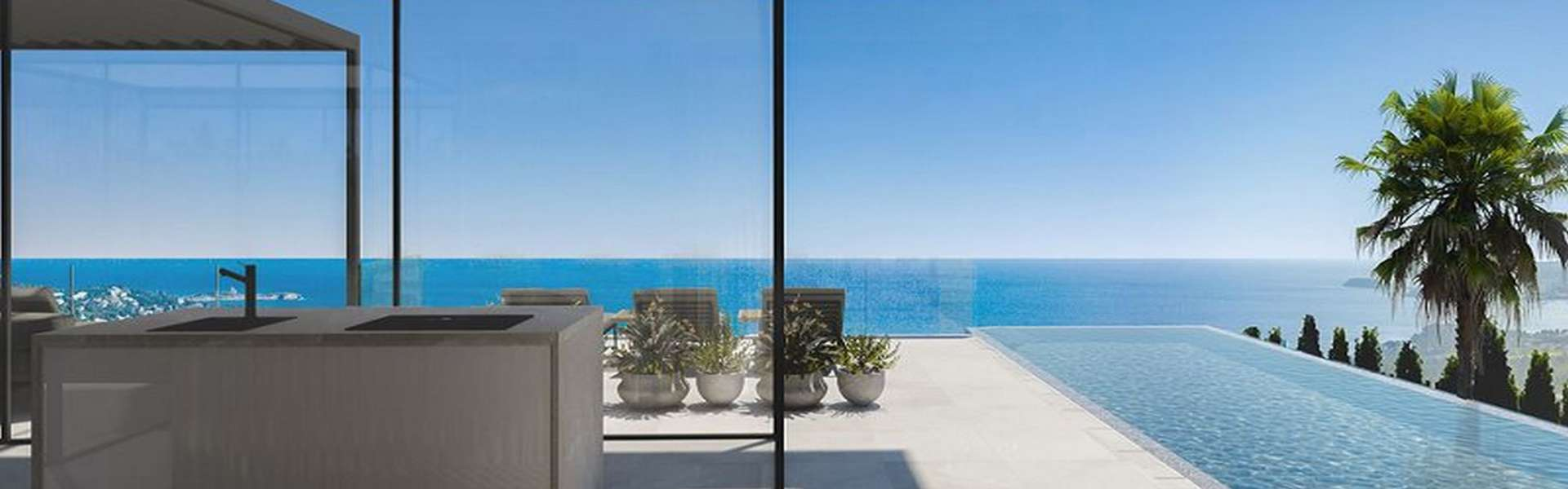Costa d'en Blanes - Building plot with approved project and excellent sea view