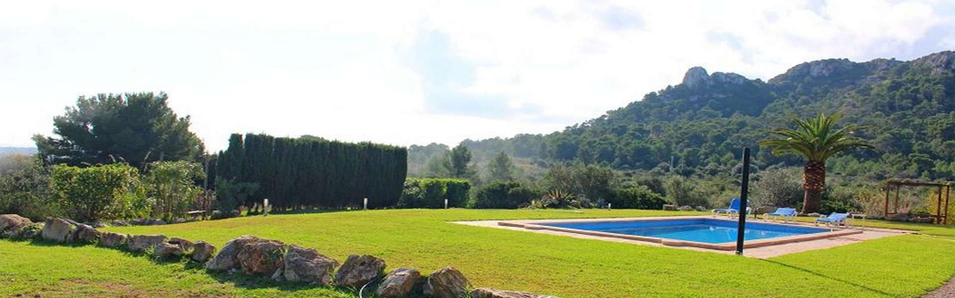 Son Servera - Charming finca with a fantastic panoramic view and holiday rental license