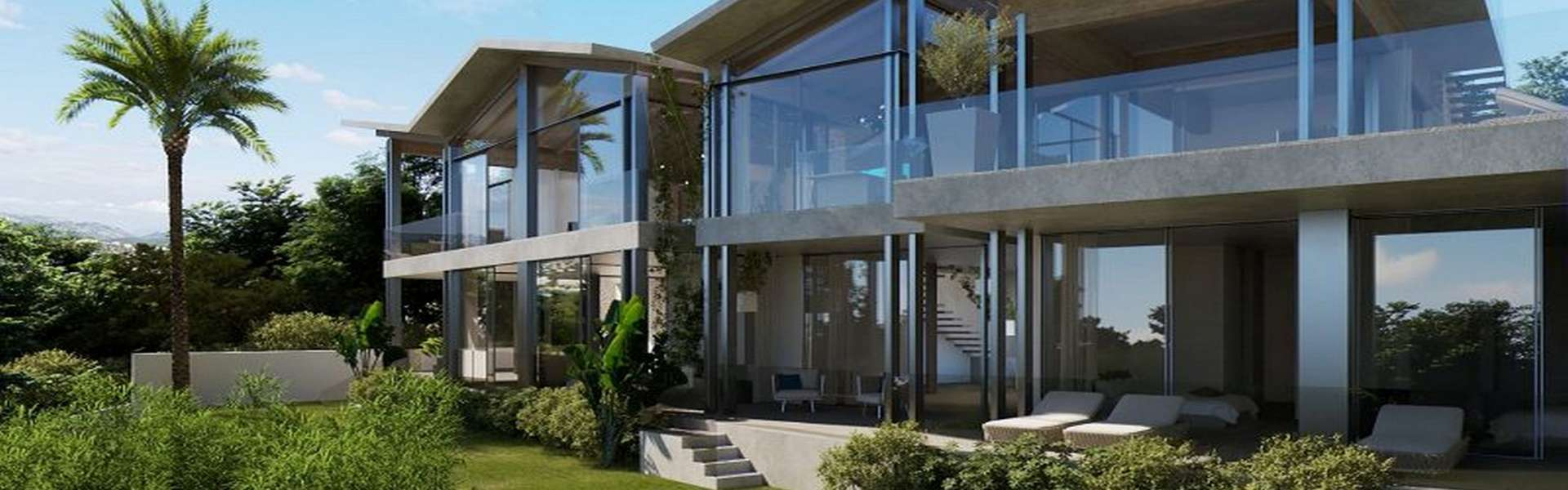 Santa Ponsa - Imposing villa new construction project with sea view