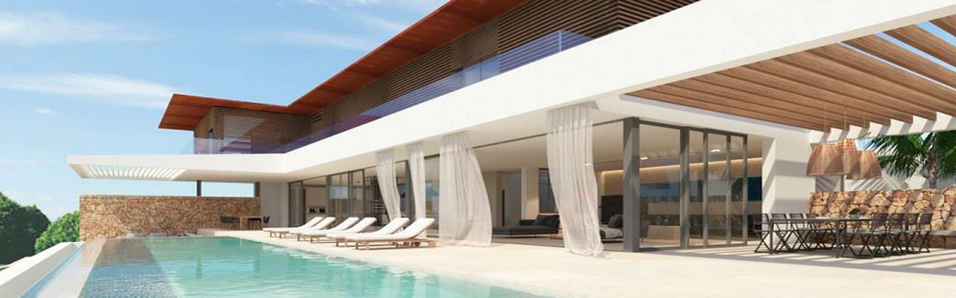 Cala Vinyes - New construction project with sea view